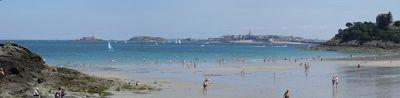 Beach and Villa